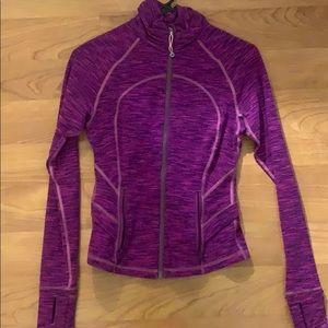 pink Lululemon tech workout jacket
